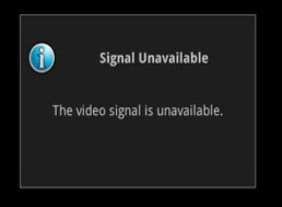 Signal Unavailable - Optical TV Troubleshooting