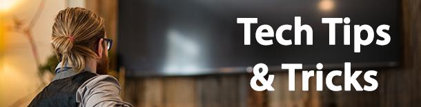 Tech Tips - TV Terms